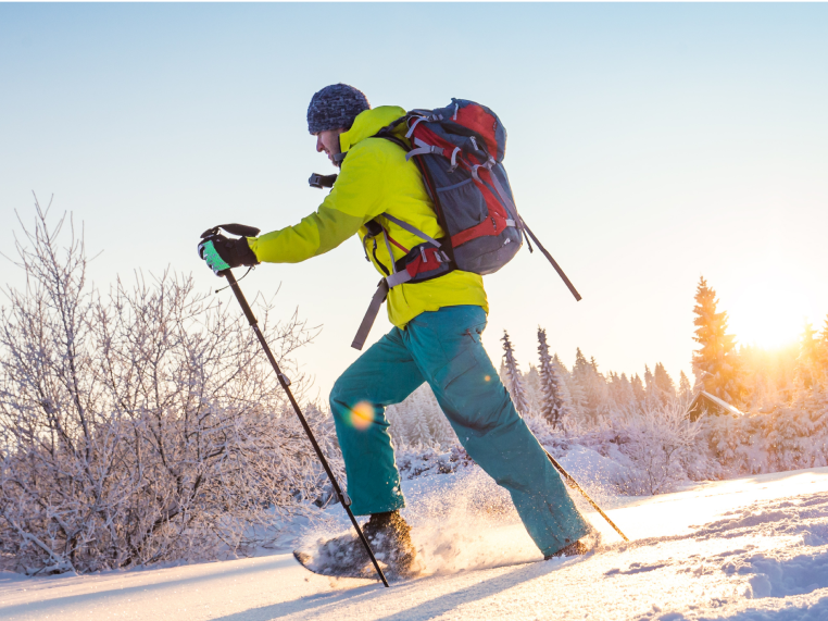 Trails for Cross-Country Skiing and Snowshoeing