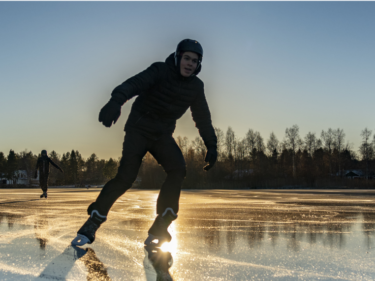 Lake for Ice Skating