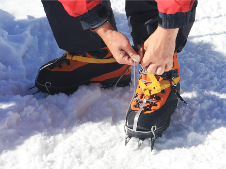 MicroSpikes Rental for Winter Hiking