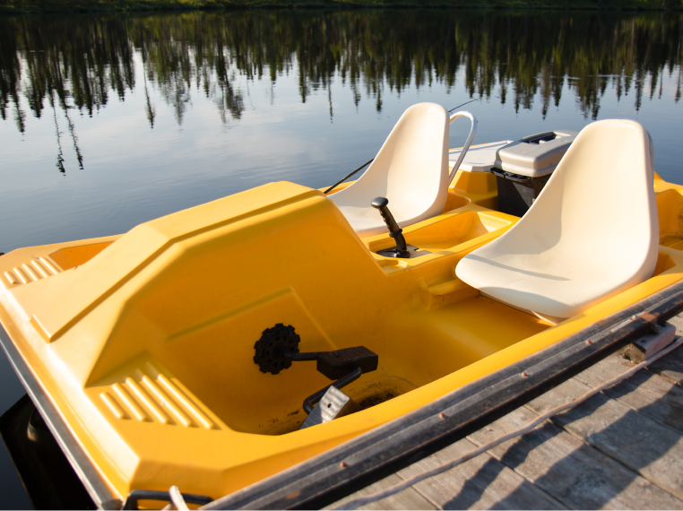pedal-boating