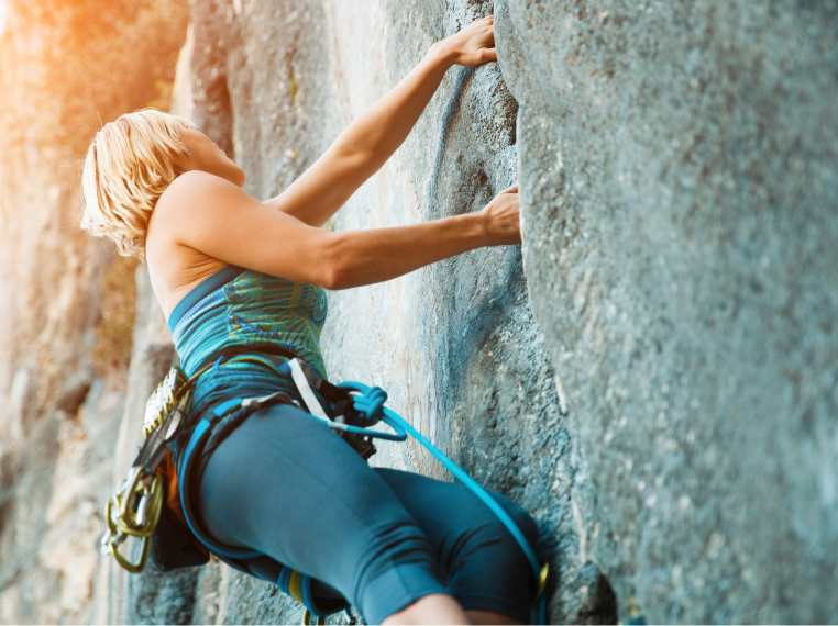 Rock Climbing Experience and Vertical Playpen